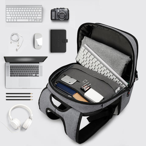 2018 Tigernu Brand External USB Charge Backpack Anti-theft Male Mochila Laptop Backpack School Bags  Backpack for Teens - Coolmart.us