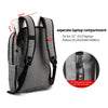 Image of 2018 Tigernu Brand External USB Charge Backpack Anti-theft Male Mochila Laptop Backpack School Bags  Backpack for Teens - Coolmart.us
