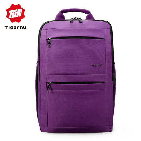 2018  Tigernu Brand Youth Women Backpack Trend Ladies Female Laptop backpack 14-17inch School bag Backpack Bolsas Mochila men - Coolmart.us