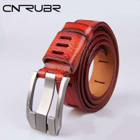 CNRUBR Men'S Boutique! Classic Belts For Men Pants Jeans Excellent Quality Harajuku Original Leather Men BELT Cinto Feminino - Coolmart.us