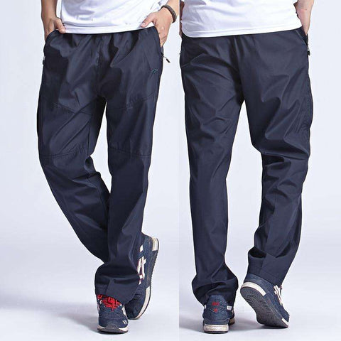 2016 New Men's Quick Dry Pants Men leisure Pants Trousers & Sweatpants tatting Pants waterproof Plus Size pant man 3XL,YA078 - Coolmart.us