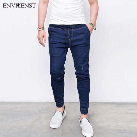 Perfect Way With Envmenst Jogger's Denim Pants