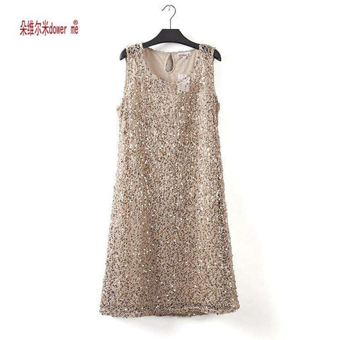 stretchable new fashion women summer dress sleeveless gray