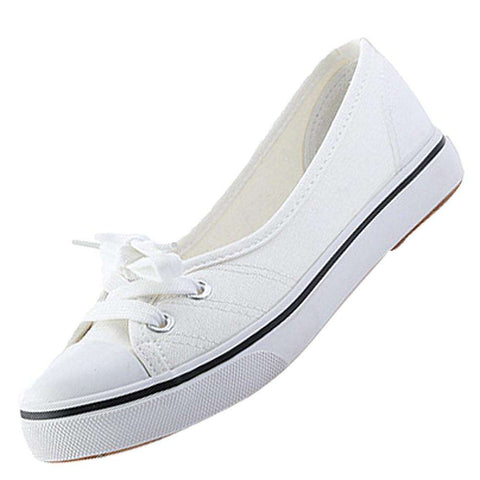 ASDS Women's Slip on Breathable Canvas Shoes