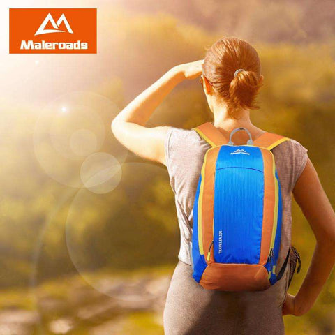 Hot sales ! Maleroads Travel mini bags parent-child bag day pack ultralight waterproof cycling backpack Daily Rucksack 10L 20L