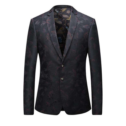 Casual Suit for Men Superior Quality Suit Fashion Blazer Male Brand Clothing Men's Coat Personality Suit Free Shipping Gent Life - Coolmart.us