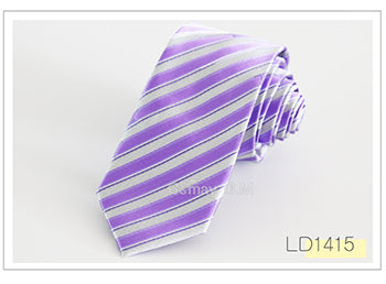 Newest fashion polyester Microfiber Skinny Mens Ties 6cm width Goom Neckties Slim Neck Tie  Free Shipping - Coolmart.us