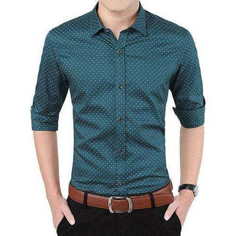 Finesse Your Modern Look With Polka Dot Shirts - Coolmart.us