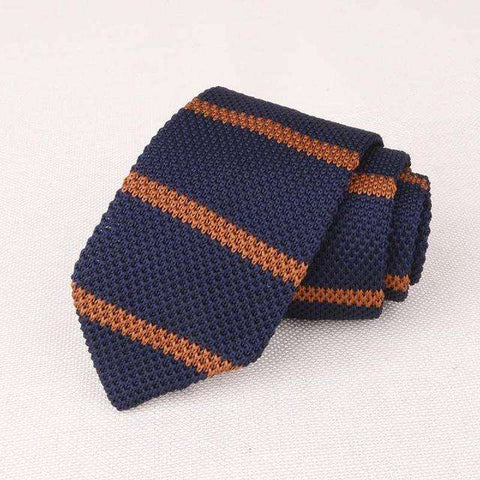 Mantieqingway Men's Suits Knit Tie Plain Necktie For Wedding Party Tuxedo Striped Woven Skinny Gravatas Cravats Accessories