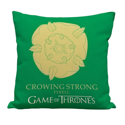 Game of Thrones House Sigils Family Crest Throw Pillows Case Linen Cotton for home Covers 43cm*43cm