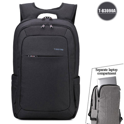 2017 Tigernu Men's Backpacks Anti-thief Mochila for Laptop 14-15 Inch Notebook Computer Bags Men Backpack School Rucksack - Coolmart.us