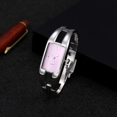 2017 Luxury Brand Watch Bracelet Watches Hollow Sexy Slim Band Women Bangle Watches Fashion Beauty Designer Ladies Quartz Watch