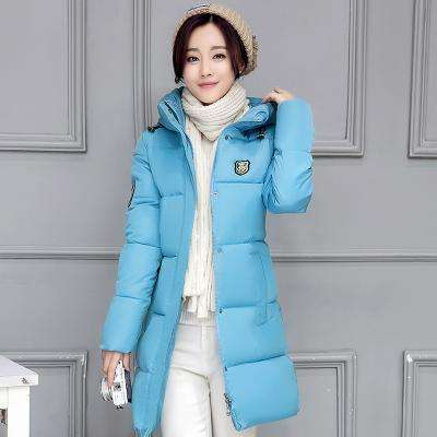 2017 New Winter Jacket Women Hooded Thicken Coat Female fashion Warm Outwear Down Cotton-Padded Long Wadded Jacket Coat Parka