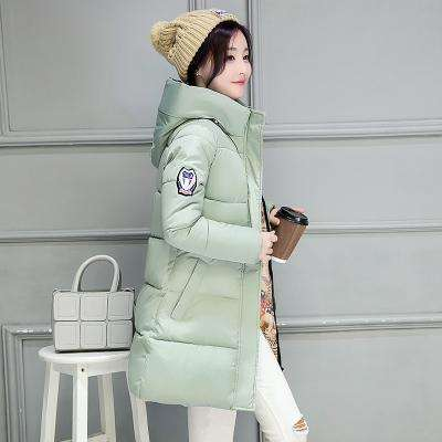 2017 New Winter Jacket Women Hooded Thicken Coat Female fashion Warm Outwear Down Cotton-Padded Long Wadded Jacket Coat Parka - Coolmart.us