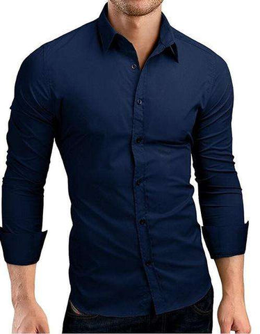 Step In To The Qingyu Mens Long Sleeve Branded Shirts Online