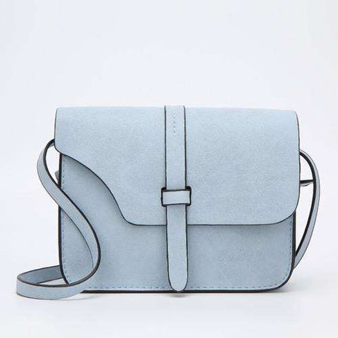 Bolish Women's Small Vintage Crossbody Bags in Nubuck Leather