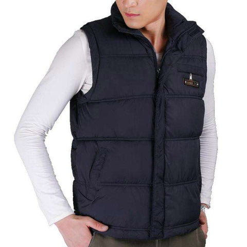 Adore A Fresh Look With Mens Windbreaker Casual Waistcoats - Coolmart.us