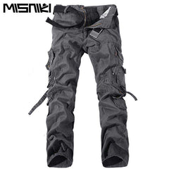MISNIKI New Army Military Camouflage Overall Bag Pants - Shadow Of Style