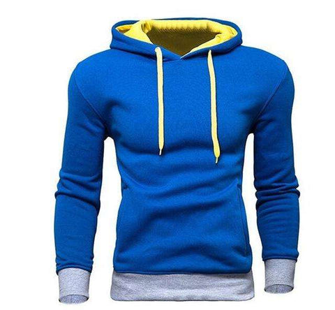 Fashion Tracksuit Sweatshirt Off Solid Color Hoody for Men