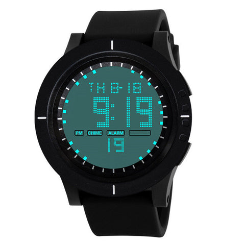 2017 Watch Men Fashion Military Silicone LED Digital Watch Date Sports Watch For Men WristWatches digitale horloges mannen #502
