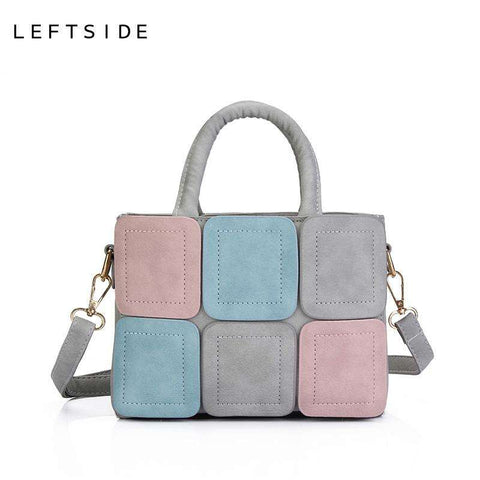 LEFTSIDE Stitch Tote bag for Women