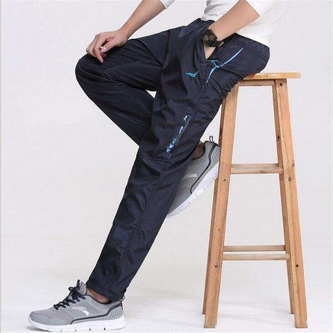 Make An Impression With Men Spring Outside Casual Working Waterproof Pants