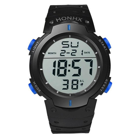 HONHX Fashion Men Sports Watches LED Digital Watch Outdoor Sports Wristwatches For Men Military Electronic Watch Reloj hombre#63 - Coolmart.us