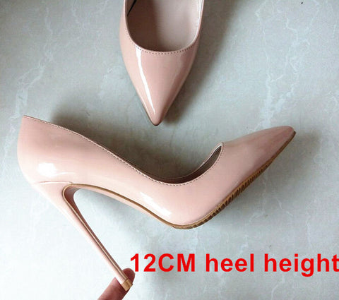 Bianca- Woman High Heels Pumps Nude Shoes