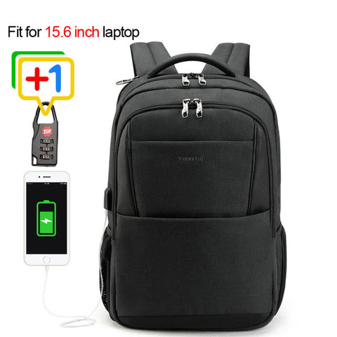 Tigernu Laptop backpack anti theft USB charging 15.6