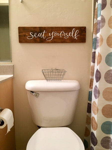 Seat yourself-Ashley