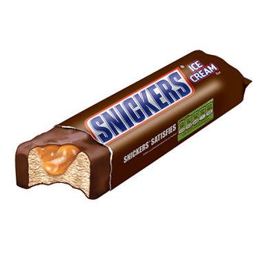 Snickers Ice Cream Bar 24ct ($28.50/Box) - Detroit Metro Ice Cream