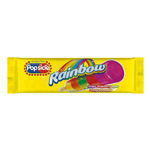 Popsicle Rainbow Pop 12ct - Detroit Metro Ice Cream