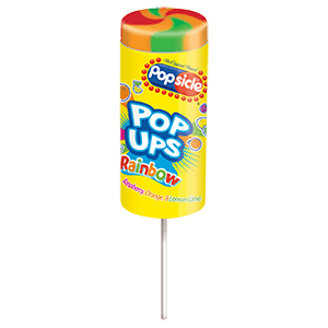 Popsicle Rainbow Pop Up 24ct ($18.00/Box) - Detroit Metro Ice Cream
