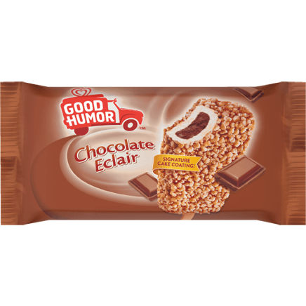 Good Humor Chocolate Eclair Bar 24ct ($28.50/Box) - Detroit Metro Ice Cream