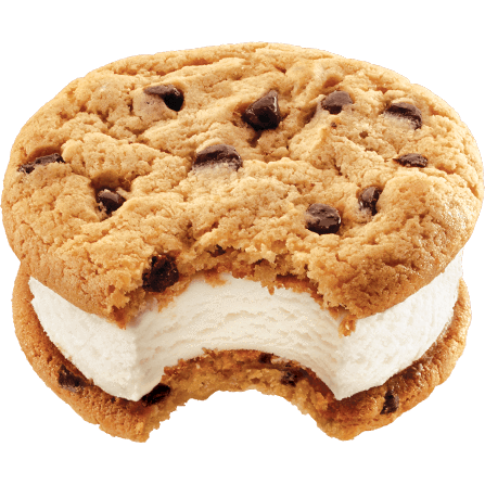 Klondike Mrs. Fields Ice Cream Sandwich 12ct - Detroit Metro Ice Cream