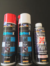 carbon build up cleaner, valves, EGR, intake manifold, Carbon X high quality made in Germany