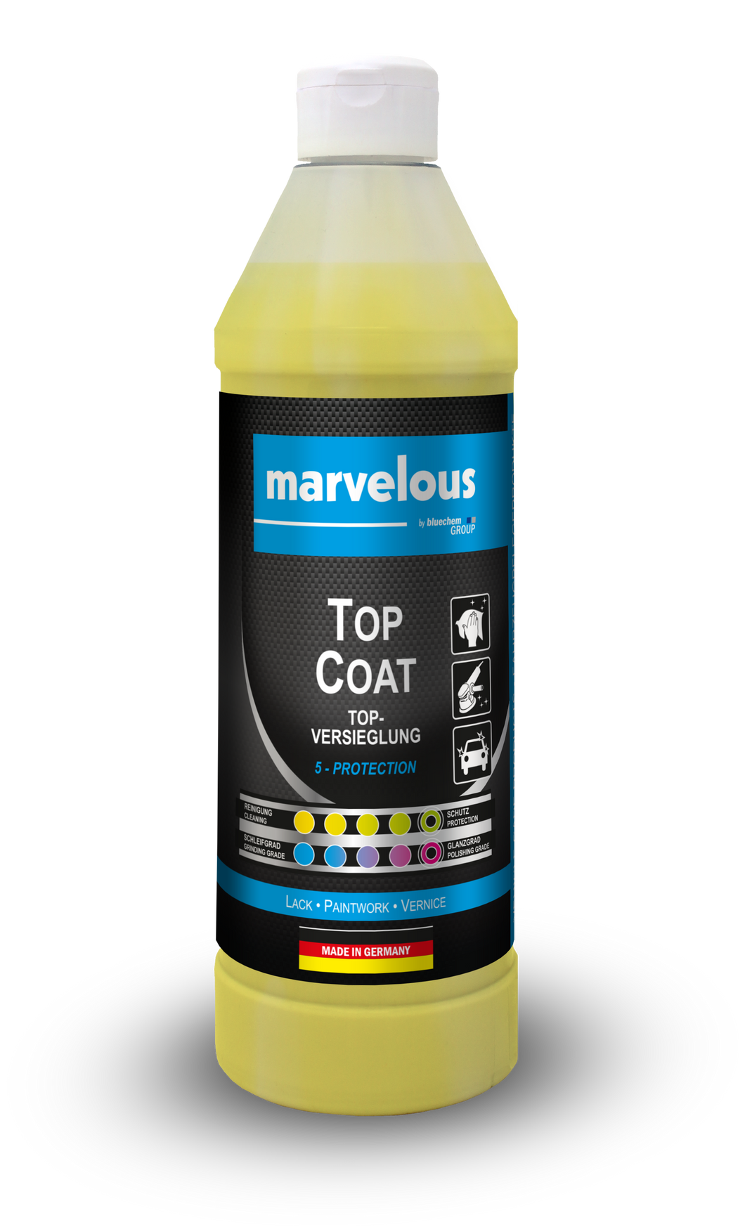 TOPCOAT PAINT POLISH & SEALER CARNAUBA WAX