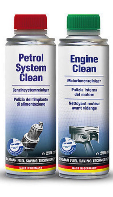 Internal engine cleaning kit 2 steps