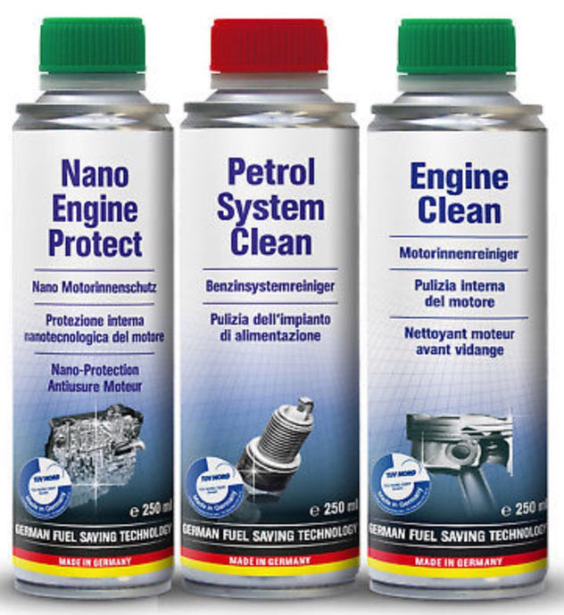 3 step internal engine clean and protection