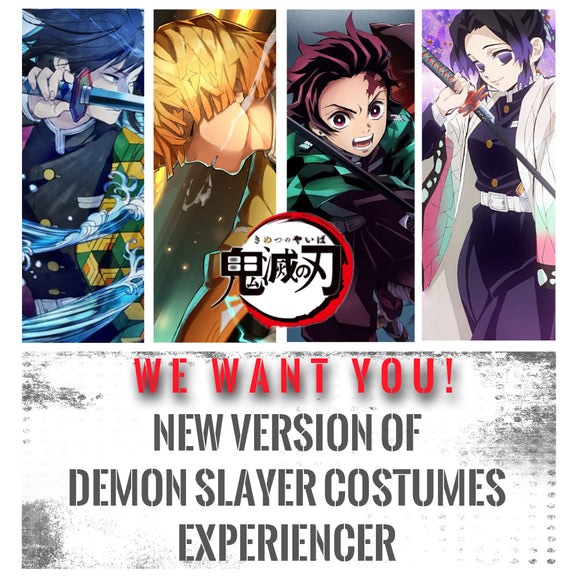 【Event】We want you! New version of Demon Slayer costumes experiencer!