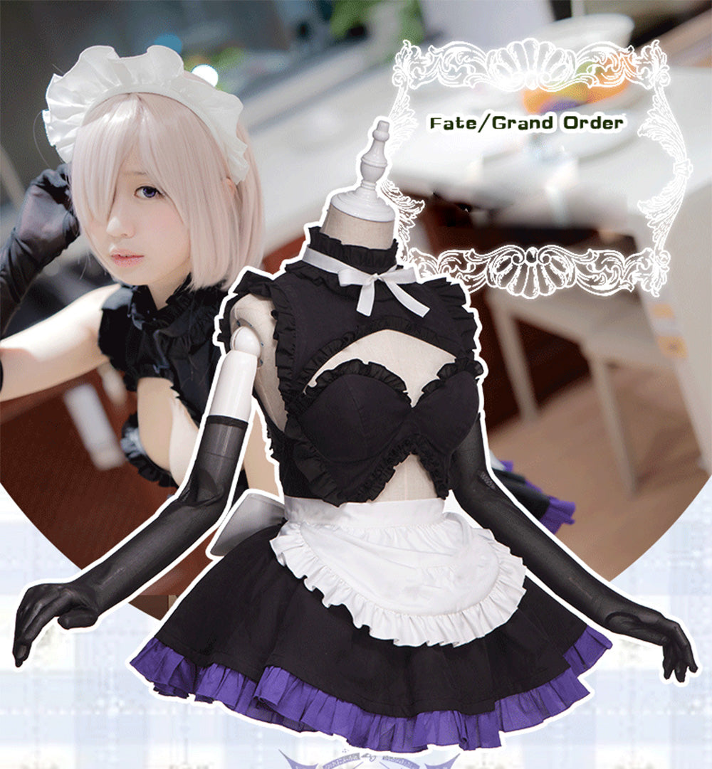UWOWO Fate Grand Order Maid Uniform Mash/Matthew Kyrielite ...