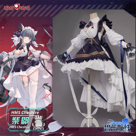 【Pre-sale】Uwowo Game Azur Lane Royal Navy HMS Cheshire Cosplay Costume Cute Cosplay Dress