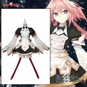 Fate//Grand Order FGO Astolfo Saber Cosplay Costume Adult Dress Outfit