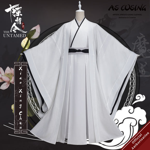 Pre-sale TV Series The Untamed Xiao Xingchen Cosplay Costume Ancient Clothing With Accessories