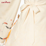 Uwowo Original Design Flower and Koi Chinoiserie Lolita Dress Cosplay Costume Views of the West Lake