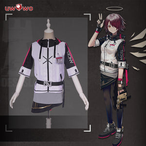 UWOWO Game Arknights Exusiai Cosplay Costume Cosplay Suit Costume