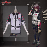 【Pre-Sale】UWOWO Game Arknights Exusiai Cosplay Costume Cosplay Suit Costume