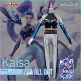 【Pre-sale】Uwowo KDA All Out Kaisa Cosplay Costume League of Legends LOL Daughter of the Void Costume K/DA