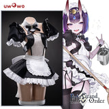 UWOWO Game Fate Grand Order/FGO Maid Uniform Shuten Douji Cosplay Costume Girls Cute Dress