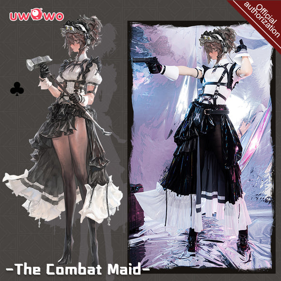 【Pre-sale】Exclusive authorization Uwowo x AGOTO: The Combat Maid Series ♣ Club Cosplay Costume